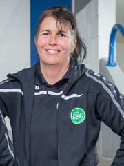 Trainerin Silvia Heeb (Bild: Urs Bucher)