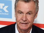 Ottmar Hitzfeld, Schweizer Nationaltrainer 2008 bis 2014