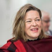 Will Bundesrätin werden: Heidi Z'graggen. (KEYSTONE/Urs Flueeler).