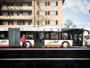 Kritik gibt es insbesondere an der Busanbindung der Quartiere. (Bild: Benjamin Manser (25. Februar 2015))