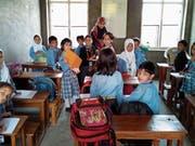 Bis Anfang August fand an der «Syed Sahab Memorial School» in Kaschmir noch Unterricht statt. (Bild: PD)