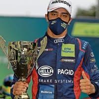 Ein Abtwiler auf Sennas Spuren: Lucas Ayrton Mauron fährt erfolgreich in der Nachwuchsrennserie der DTM