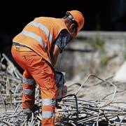 Verschiedene Berufe der Baubranche sind meldepflichtig. (Bild: Stefan Kaiser (Baar, 2. August 2018))