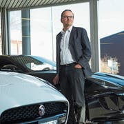 Garagen-Inhaber Stefan Epper in der Luzerner Filiale. (Bild: Dominik Wunderli, 21. Februar 2019)