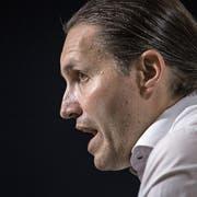 FCL-Sportkoordinator Remo Meyer findet klare Worte. (Bild: Pius Amrein (Luzern, 27. Mai 2018)