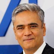 Ehemaliger Co-Chef der Deutschen Bank, Anshu Jain. (Bild: Michael Probst/AP, Frankfurt, 29. Januar 2014)
