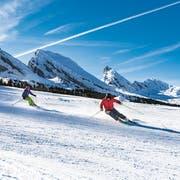 Skifahrer bei den Churfirsten. (Bild: PD)