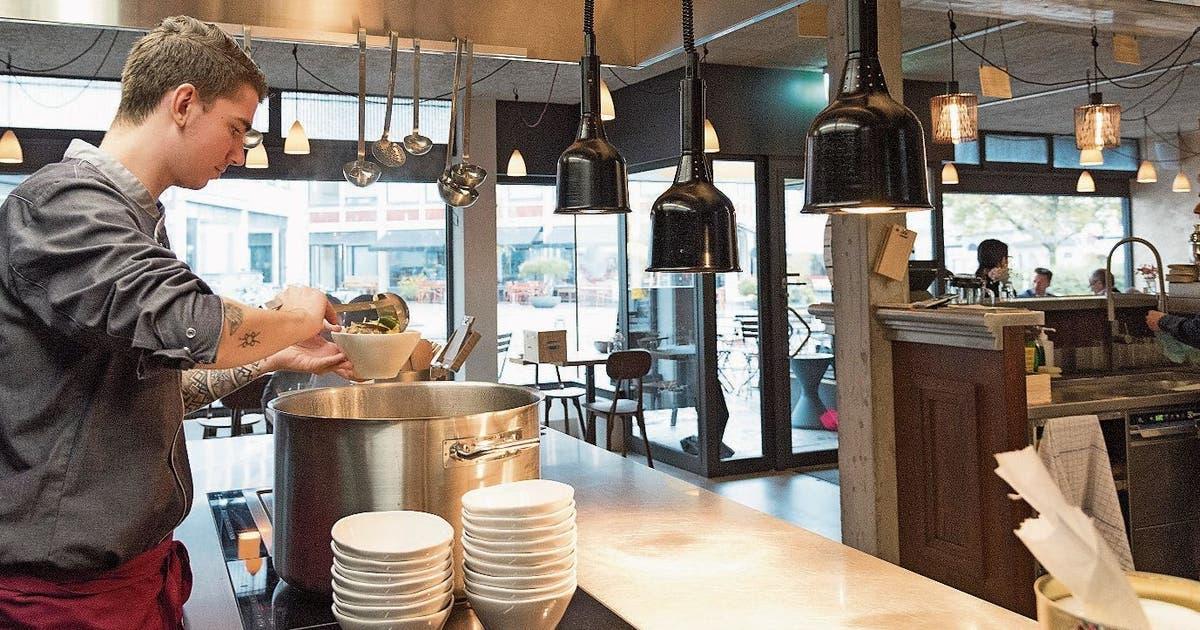 Aufgetischt: Im Restaurant Zur Werkstatt wird alles leer gegessen   St.Galler Tagblatt
