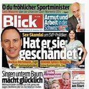 Mehr als 200 Artikel publizierte die «Blick»-Gruppe über den Fall Spiess-Hegglin. (Quelle: Ringier/ Montage: stb)