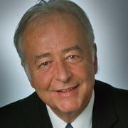 Willy Nägeli Gemeindepräsident Fischingen
