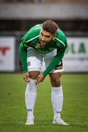 Brühls Mittelfeldspieler Alessandro Riedle. (Bild: Michel Canonica - 7. August 2019)