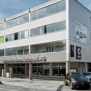 Blick auf die Merbag-Filiale an der Spitalstrasse in Luzern. (Bild: PD)