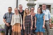 Der neu zusammengesetzte Vorstand (von links): Freddy Businger, Nina Huser, Roger von Büren, Nadia Würsch, Raphaela Leuthold, Daniela Bättig Hildenbrand und Othmar Kayser. (Bild: pd)