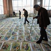 Reicht dieses Stillleben für die Kunsthochschule? Darüber befinden diese Lehrer. (Bild: Visual China Group, Shandong, 19. Dezember 2018)