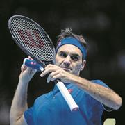 Ein bisschen Gemütlichkeit: Roger Federer nimmt trainingsfrei. Bild: Fred Lee/Getty (London, 13. November 2018)