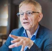 Der ehemalige SRF-Bundeshauschef Hanspeter Trütsch lebt St.Georgen. (Bild: Michel Canonica)