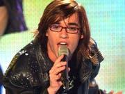 """2003: Superstar-Kandidat Daniel Kueblboeck tritt bei der Generalprobe zum Halbfinale der RTL-Talentshow """"Deutschland im Coloneum auf."""