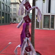 Erinnerung an den Frauenstreik im roten Bleicheli. (Bilder: PD - 14. Mai 2019)