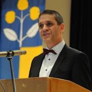 Pascal Blöchlinger, Präsident der SVP Uri: «Das Vorgehen der UKB-Verantwortlichen ist für mich ganz einfach zu krass und zu rigoros.» (Bild: Urs Hanhart, 7. Dezember 2018)