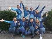Die Gamserinnen durften sich über ein erfolgreiches Comeback an den höchsten nationalen Titelkämpfen freuen. (Bild: PD)