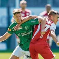 20 Minuten Badi-Stimmung, 70 Minuten leiden: Der FC St.Galle ...