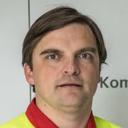 René Kiser, Feuerwehrkommandant Sarnen (Bild: Nadia Schärli)