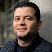 Sokol Maliqi, Trainer des FC Uzwil. (Bild: Benjamin Manser)