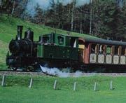 Ein Bild aus besseren Tagen: Die Lokomotive Madlaina dampfte jahrzehntelang durchs Appenzellerland. (Bild: PD)