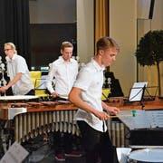 Die Perkussion-Ensembles bewiesen am 18. Ostschweizer Solisten- und Ensemblewettbewerb ihr Taktgefühl. (Bilder: Christoph Heer)