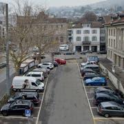 Morgen, 20. März 18, debattiert der GGR über eine Motion zum oberen Postplatz sowie einer Volksinitiative zu den Parkplätzen des unteren Postplatzes. Fotografiert am 19. März 2018 in Zug.Zuger Zeitung/ Maria Schmid