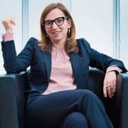 Philomena Colatrella (50) im CSS-Hauptsitz in Luzern. (Dominik Wunderli, 17. Februar 2016)