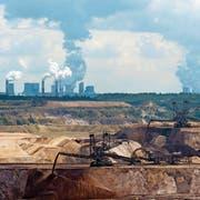 Der Abbau von Kohle rentiert wieder – zumindest vorläufig: Blick auf einen Braunkohle-Tagebau im deutschen Bundesland Nordrhein-Westfalen. (Getty)