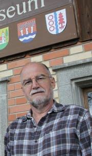 Guido Sieber war fünf Jahre lang Kustos des Landwirtschaftsmuseums Ruggisberg. (Bild: Adrian Lemmenmeier)