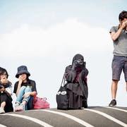Vom neuen Verhüllungsverbot im Kanton St.Gallen sind auch Touristinnen betroffen. Bild: Mads Claus Rasmussen/EPA