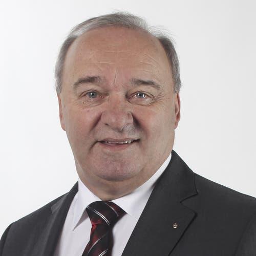 Schwyzer Ständerat Alex Kuprecht, seit 2003, SVP, wiedergewählt