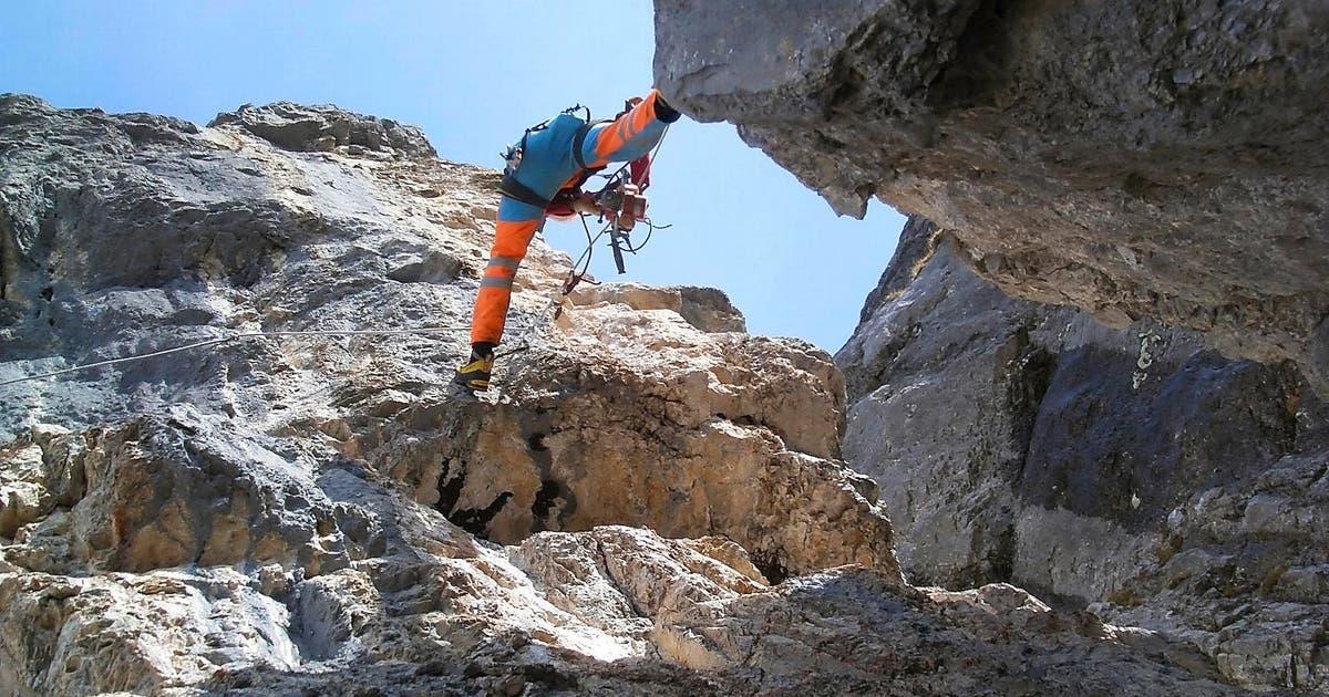 Klettersteig Luzern : Biel: harte arbeit in extremer höhe luzerner zeitung