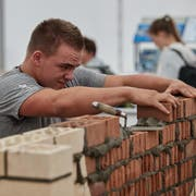 Lukas Arnold ist während dem Wettkampf konzentriert bei der Sache. (Bild: PD)