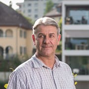 Patrick Schnellmann im Quartier Sonnenhof, wo er Quartiervereinspräsident ist.(Bild: Boris Bürgisser, Emmen, 10. September 2018)