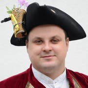 Tschyfärä-Zunftmeister Christian I. (34).
