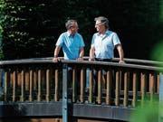 Urs Stierli (links) wird Nachfolger von Markus Burri. (Bild: Stefan Kaiser (Oberägeri, 17. August 2018))