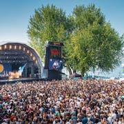 Erfolgreich trotz hartem Verdrängungskampf: das Summerdays Festival am Arboner Hafen. (Bild: Urs Bucher (26. August 2017))