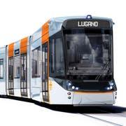 Visualisierung eines Tram-Trains des Typs Tramlink von Stadler für das Tessin. (Bild: PD)