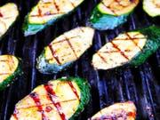Der Grill eignet sich auch hervorragend für fleischlose Gerichte. (Bild: Getty)