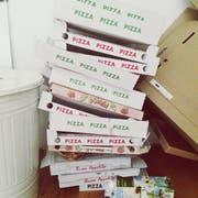 Ohne Bestellung geliefert: Silvan Mumenthaler erhielt Pizzen im Wert von 560 Franken. Bild: Getty