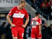 Holger Badstuber, geknickt nach der 0:4-Klatsche auswärts gegen Hoffenheim. (Bild: Epa/Ronald Wittek)