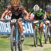 Ramona Forchini (15) fuhr nach einem verpatzten Start beim Weltcuprennen in Andorra als 14. über die Ziellinie und erfüllte dadurch die Selektionskriterien für die Weltmeisterschaft in Kanada. (Bild: PD)