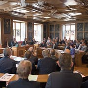 Der Nidwaldner Landrat - hier in der aktuellen Zusammensetzung – muss erneut über das Einbürgerungsgesuch eines Bosniers entscheiden. (Bild: Corinne Glanzmann, Stans, 27. Juni 2018)
