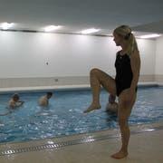 Neben dem Schwimmunterricht für Schüler finden im Schwimmbecken auch Aqua-Fit-Lektionen statt. (Bild: Archiv)