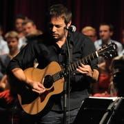 Der Urner Livio Baldelli hat die Musik des Dokumentarfilms «Manne» komponiert und aufgenommen. (Archivbild: Urs Hanhart)