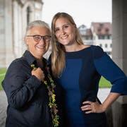 Doris Königer (links) und Monika Simmler teilen nicht nur ihre Leidenschaft für Politik, sondern auch fürs Segeln. (Bild: Ralph Ribi)